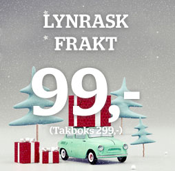 Snart jul - lynrask levering