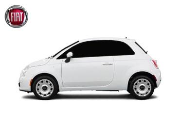 Takstativ til Fiat 500e elbil