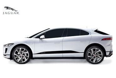 Takstativ til Jaguar i-pace