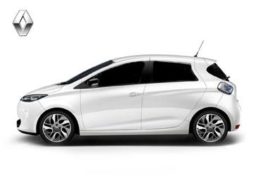 Takstativ Renault Zoe