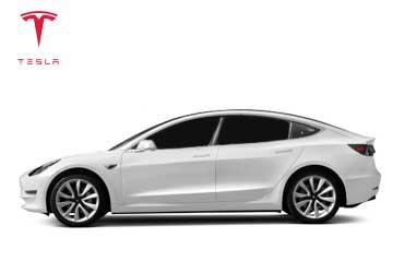 Takstativ til Tesla Model 3